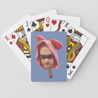 Mole Man Bunny Head Playing cards