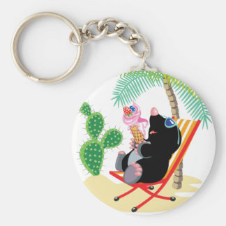 mole on the beach key ring