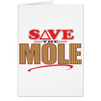 Mole Save Card