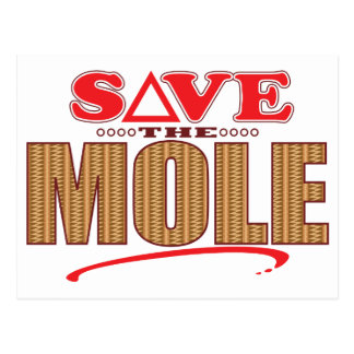 Mole Save Postcard