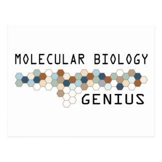 Molecular Biology Genius Postcard