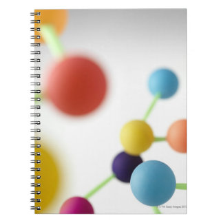 Molecular structure. notebook