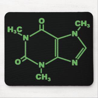 molecule_caffeine mouse pad