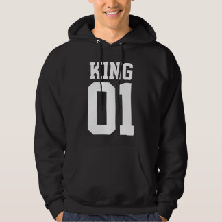 Moletom with basic pointed hood - King 01 Hoodie