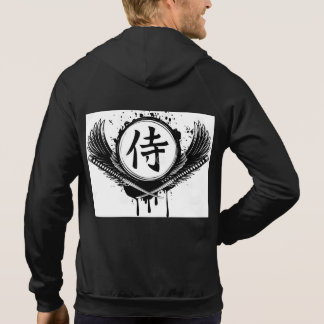 Moleton 100% cotton - Honour of samurai Hoodie