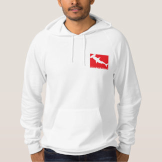 "Moleton Divers will be Sharks ""Species "" Hoodie"