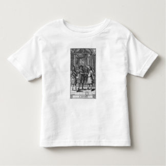 Moliere as Harpagon, frontispiece illustration Tshirts