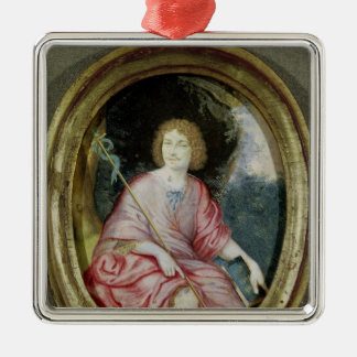 Moliere  as St. John the Baptist Christmas Ornament