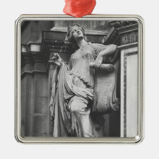 Moliere Fountain, Light Comedy, 1844 Christmas Ornament