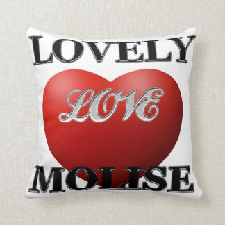Molise a casa throw pillow