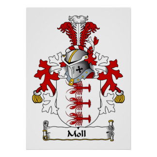Moll Family Crest Posters