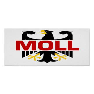 Moll Surname Poster