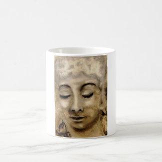 Molliesmugs, Meditating Lady on Classic White Mug