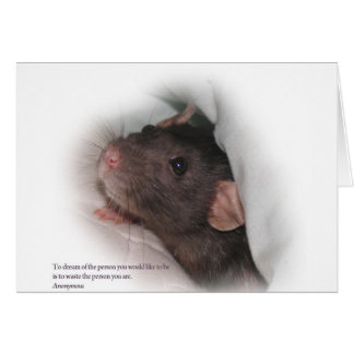 Molly1withsaying Greeting Card