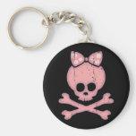 Molly Bow Dot Keychain