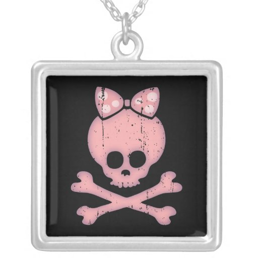 Molly Bow Dot Custom Necklace