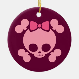 Molly Bow Pink Christmas Ornament
