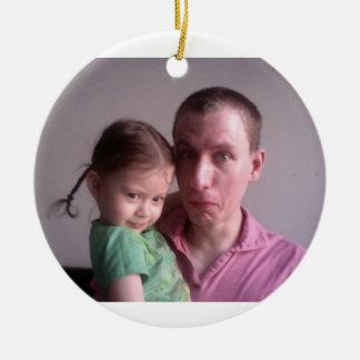 Molly & Daddy Ornament