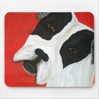 molly dog mouse mat