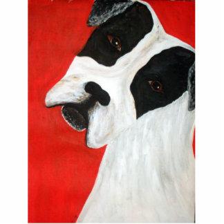 molly dog photo sculpture