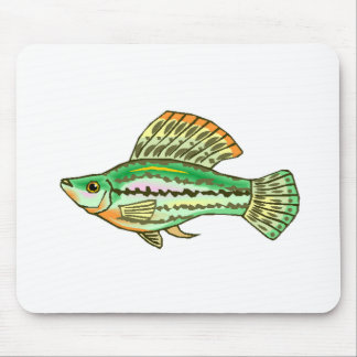 Molly Fish Mouse Pads