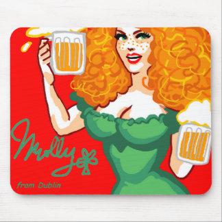 Molly from Dublin Tapis De Souris