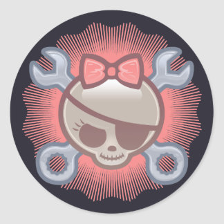 Molly Goodwrench Round Sticker