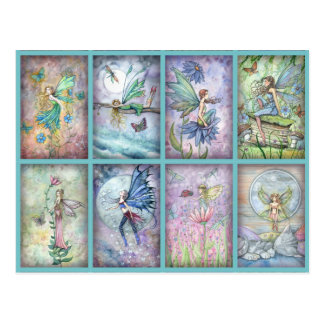 Molly Harrison Flower Fairies Postcard