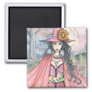 """molly harrison illustrations"" magnet"