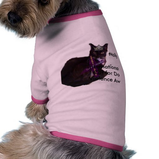 molly, international Spokes Cat for Domest... Doggie T Shirt