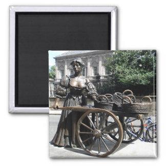 Molly Malone and Wheelbarrow Ireland Magnets