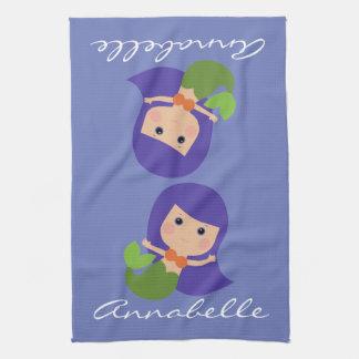 Molly Mermaid Tea Towel