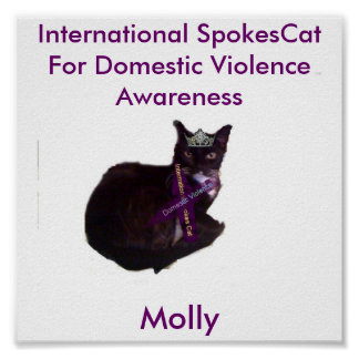 molly Molly International Spokes Cat For Dome Posters
