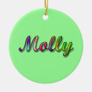 Molly_Name Ornament