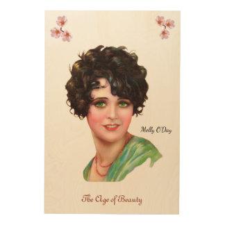 Molly O'Day Wood Print
