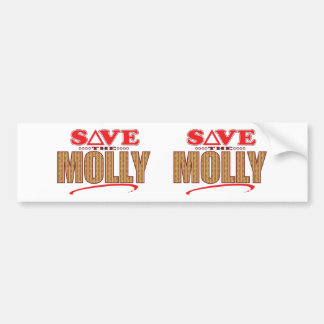 Molly Save Bumper Sticker