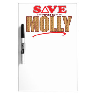 Molly Save Dry-Erase Whiteboards