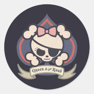 Molly Spade Round Sticker