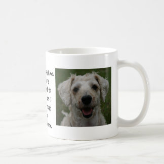 Mollywog the Dog Mug: Call Me Anything Basic White Mug