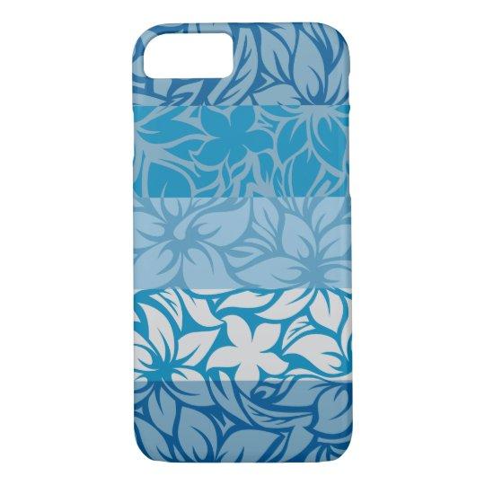 Moloaa Bay Hawaiian Striped Hibiscus iPhone 8/7 Case