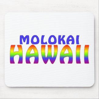 Molokai Hawaii rainbow writing Mouse Pad