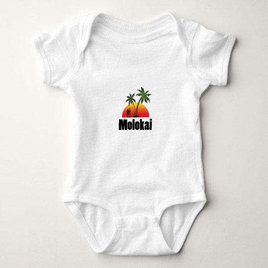molokai surfer baby bodysuit