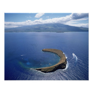 Molokini Island, Maui, Hawaii, USA Photo Print