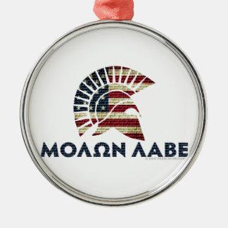 Molon Labe! Christmas Ornament
