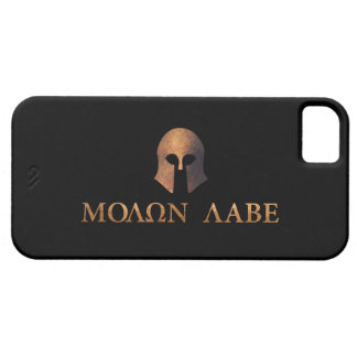 Molon Labe (Come and Get It) iPhone 5 Cover