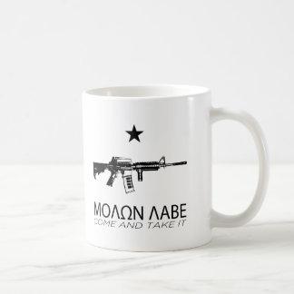 Molon Labe - Come And Take It Basic White Mug