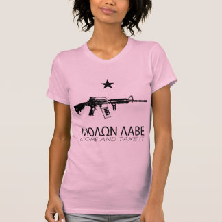 Molon Labe - Come And Take It Tee Shirt