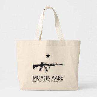 Molon Labe - Come And Take It Tote Bag