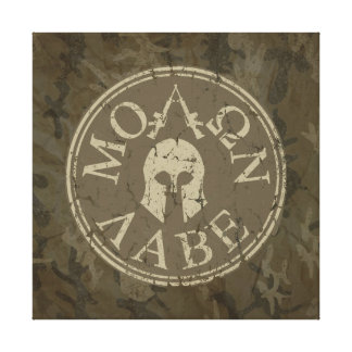 Molon Labe Come and Take Them Gallery Wrapped Canvas