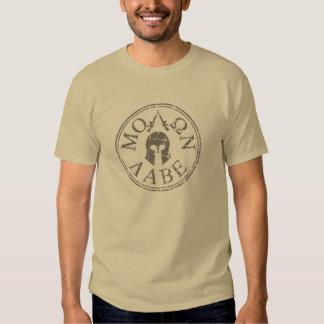 Molon Labe, Come and Take Them T Shirts